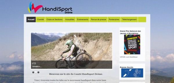 Handisport Drôme