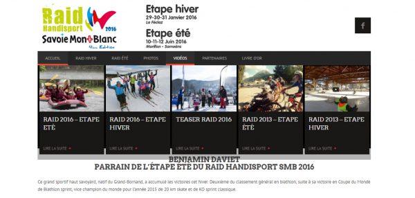 Raid Handisport Savoie Mont Blanc